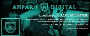 ¡URGE! Promueven Amparo Digital contra la #LeyTelecom.  COMPARTE.