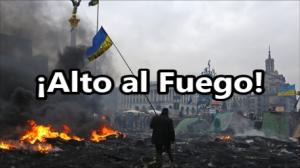 Se firma el Alto al Fuego en Ucrania. ¡Buena Noticia!