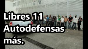 Liberan a otros 11 #Autodefensas, después de un año y cinco meses de su detención.
