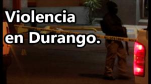Asesinan a 4 músicos y dejan heridas a 4 personas más en fiesta en Durango.
