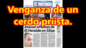 Alcalde de Silao le advirtió que le 'bajara de huevos'. Después mandó golpear a la periodista.