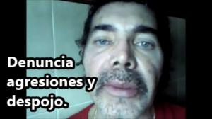 Jaime Moreno denuncia agresiones y despojo de su propiedad en Tonalá, Chiapas.