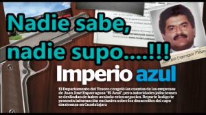 La 'inteligencia' mexicana y de los Estados Unidos, no saben si el Azul está vivo o muerto.