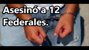 Capturan a 'El Zanate', sicario de 'La Tuta', autor material del asesinato de 12 Federales en 2009.
