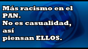 Una más del panísmo xenófobo y racista. Llama 'simio' a Ronaldinho.