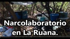 Desmantelan nuevo narcolaboratorio de metanfetaminas en La Ruana.