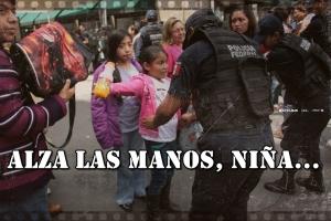 Las imágenes de la vergüenza de este 15 de septiembre. #NadaQueCelebrar.