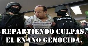 El enano genocida, FeCal, reparte culpas en entrevista a 'El País'. Ya duerme mejor, dice.