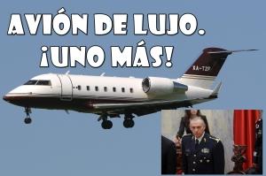 El Secretario de Defensa, tendrá nuevo avión. ¡De super lujo, claro está!
