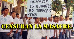 77 estudiantes de Ayotzinapa desaparecidos. Desollaron a uno de ellos y los medios NO informan.