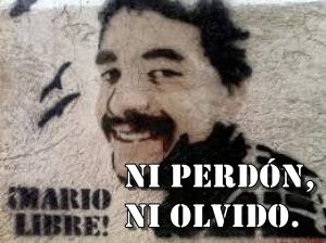 Mensaje de Mario González desde la cárcel.