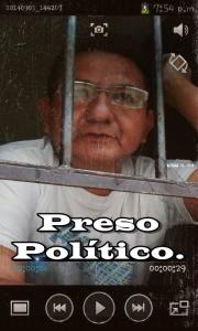 Pedro Canché es preso político. Víctima del gobierno represor de Roberto Borge.