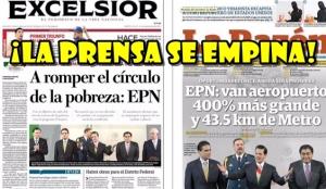 Una vez más, la prensa se rindió ante el Títere. Las portadas del 3 de Septiembre lo confirman.