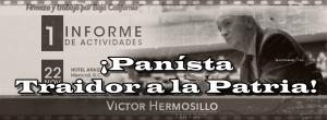 ¡Eres un traidor a la patria, Víctor Hermosillo! Le gritan en un avión al Senador panísta.