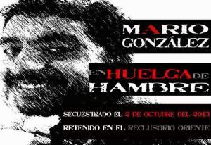 Cumplen 10 días en huelga de hambre. #PresosPolíticos #MarioLibre