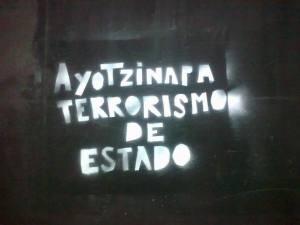 Comunicado de #YoSoy132 Madrid sobre la resolución del Parlamento Europeo por el caso de #Ayotzinapa y parte de la sesión desde la sede parlamentaria.