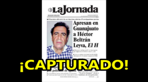 Capturan en Guanajuato a