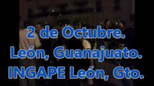 Sacando la información a las calles. INGAPE en León, Guanajuato  #SOSporMéxico.