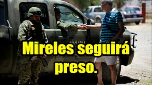 Confirman formal prisión a Mireles. #Michoacán.
