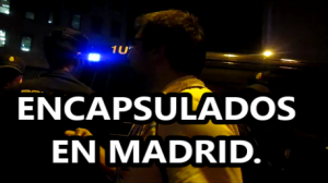 ENCAPSULADOS EN MADRID. Embajada de México ORDENA  disolver manifestación en España. #EPNBringThemBack.