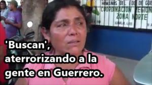 Siembran más terror en Guerrero con el pretexto de buscar a los 43 normalistas. #Ayotzinapa.