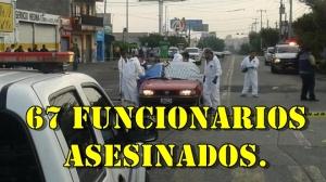 Jalisco; 67 funcionarios públicos asesinados con Aristóteles gobernando. ¿Por qué los matan?