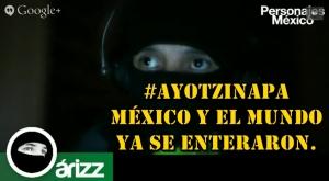 De Ferguson a #Ayotzinapa, estamos con ustedes. #TodosSomosAyotzinapa.