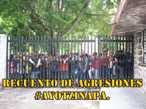 Recuento histórico de las agresiones a la Normal Rural 'Isidro Burgos' de #Ayotzinapa.