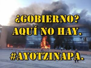 ¿Gobierno? aquí no hay. Usan #Ayotzinapa como trampolín electoral para 2015.