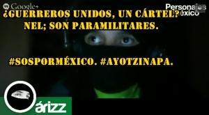 ¿Guerreros Unidos, un cártel? Nel; son paramilitares. #SOSporMéxico. #Ayotzinapa.