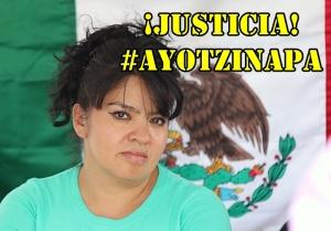 Quisiera estar con ustedes, para ir al frente en esta lucha: N. Salgado #SOSporMéxico #Atotzinapa.