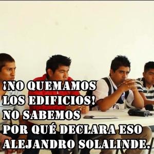Aténganse a las consecuencias, nos están llevando a la Revolución: Padres y Normalistas #Ayotzinapa.