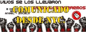 Desde NYC un comunicado de solidaridad y una invitación para hacer periodismo desde abajo.