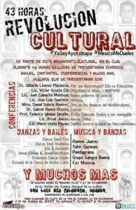 #YaMeCansé. San Luis Río Colorado hace una nueva protesta. INVITACIÓN.
