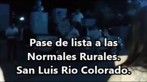 San Luis Rio Colorado, en apoyo a #Ayotzinapa.