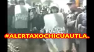 #AlertaMáximaXochicuautla. Detienen a comuneros indígenas otomíes.