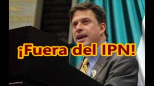 Corren a Fernando Belaunzarán, el perredísta, del IPN. #YaMeCansé.