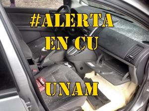 Testimonio de la agresión a balazos, hoy en CU, UNAM #FueraNarrodelaUNAM.