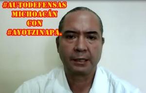 Jorge Vázquez, Vocero de Autodefensas Michoacán, pide unidad. Habla sobre #Ayotzinapa.