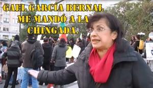 Gael García Bernal no vino a apoyar a #Ayotzinapa, sino a promocionar su película: Malu, OWS.