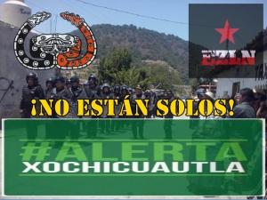 Comunicado del CNI y el EZLN sobre la agresión a la comunidad indígena de Xochicuautla.