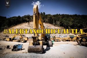 Empresa que hizo casa de 'La Gaviota', está destruyendo bosques en el EdoMex. #AlertaXochicuautla.