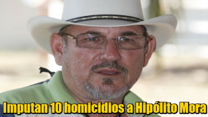 Hipólito Mora y 26 ex autodefensas se les imputa homicidio calificado de 10 personas