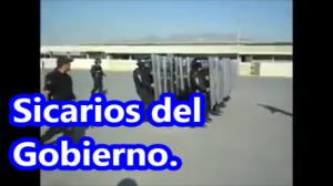Policía Federal se entrena usando consignas de las manifestaciones. ¡Se burlan!  #YaMeCansé2.