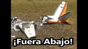 Derriban dos aeronaves mexicanas en Venezuela. Ya van 3 en los últimos 12 meses.