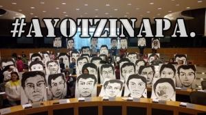 #Ayotzinapa Nunca Más. Parlamento Europeo abre puertas al reclamo de Justicia. #YaMeCansé2.