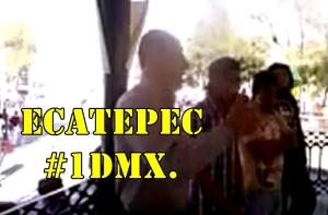 Ecatepec participó en el #1DMX. #YaMeCansé.