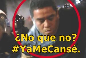 Animal Político exhibe al GDF: Sí hay policías infiltrados en las manifestaciones. #YaMeCansé.