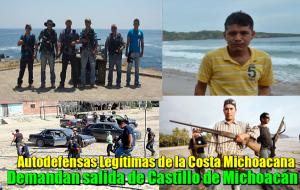 Templarios protegidos por el Gobierno de Colima: Autodefensas Legítimas de la Costa Michoacana