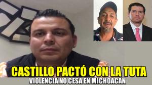Alfredo Castillo pactó con La Tuta : Guillermo Valencia